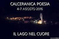 Il lago nel cuore - Calceranica Poesia: PROGRAMMA INDICATIVO DELLA MANIFESTAZIONE ( AGOSTO 2016)