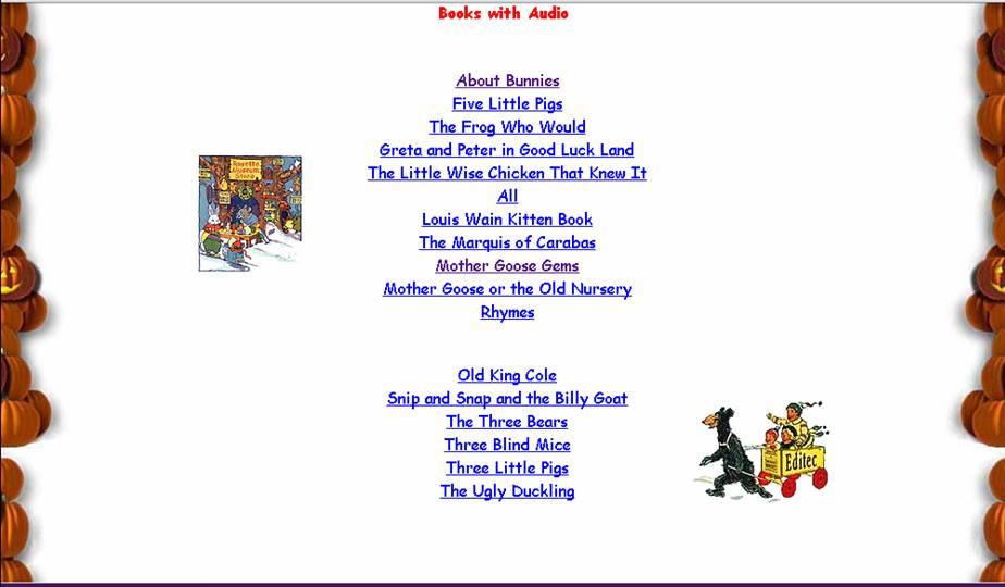 http://www.childrensbooksonline.org/library-audio.htm