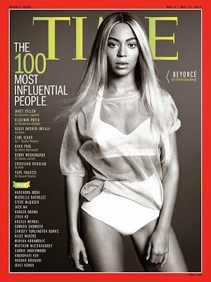 Beyonce is among the most influential people in the world list of magazine