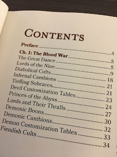 Contents Mordenkainen's Tome of Foes