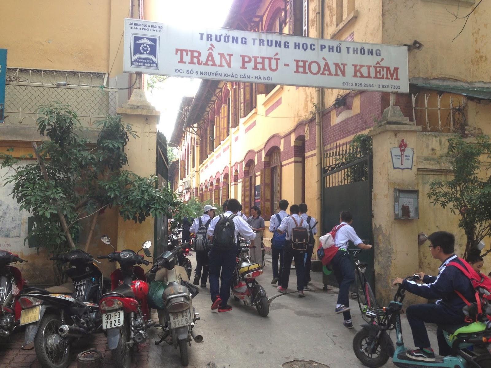 school-vietnam ハノイの学校