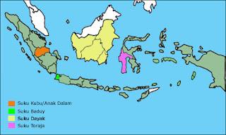 Nama-nama suku bangsa di indonesia beserta daerahnya