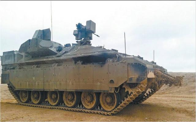 Άρματα όπως το εικονιζόμενο Merkava Mk4 θα μπορούν να προστατευθούν από αντιπάλους χαμηλής υπογραφής όπως ελεύθεροι σκοπευτές και ομάδες κυνηγών αρμάτων