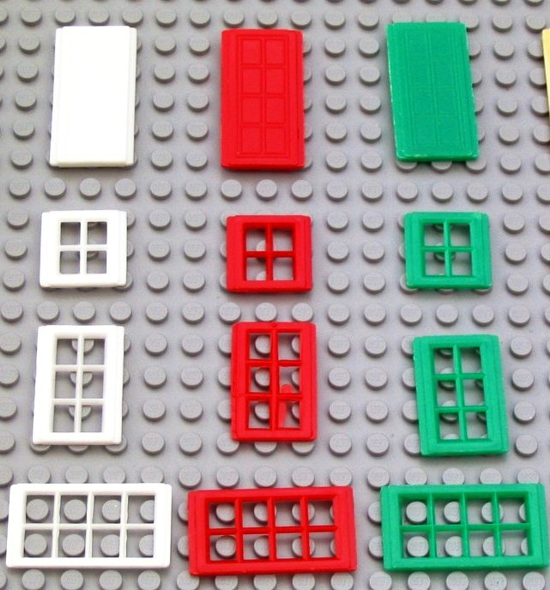 First LEGO windows