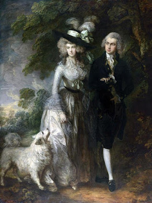 Thomas Gainsborough - The morning walk,1785