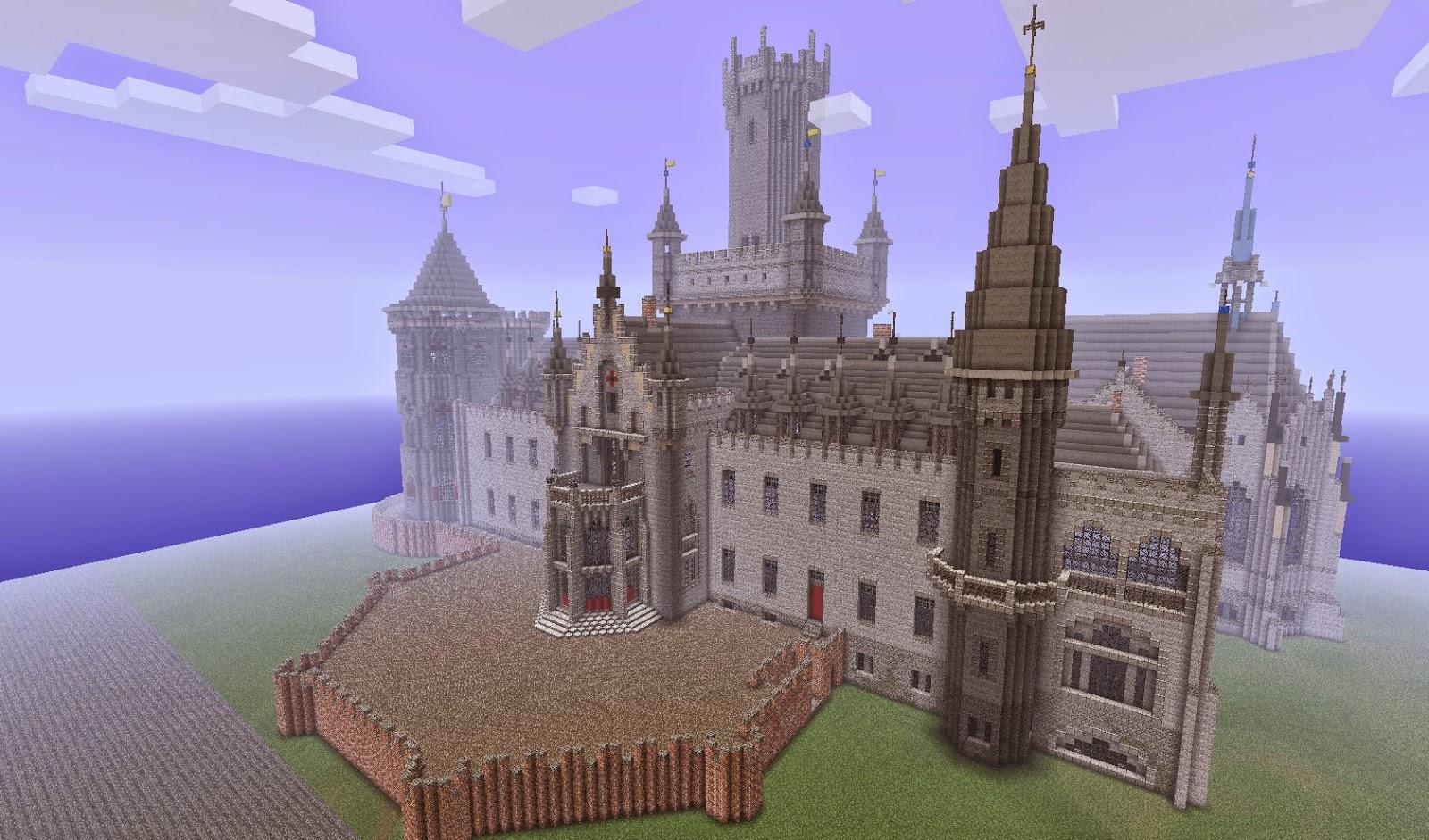 Minecraft Castle Gate Minecraft Castle Map Wallpapers
