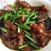 Braised Meat With Pork Tendons & Mushrooms ~ Pressure Cooker Recipe