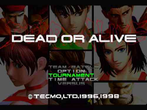 Dead or Alive Ps1