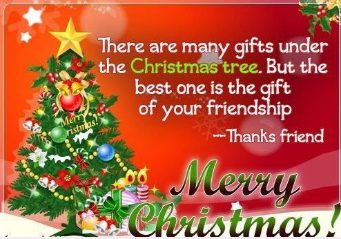 Merry Christmas Wishes for Best Friend