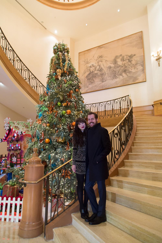 Four Seasons Las Vegas Hotel at Christmas Time