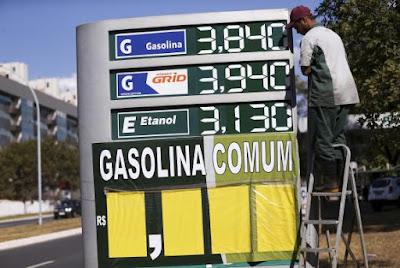 Petrobras aumenta preço da gasolina em 4,2% nas refinarias a partir de hoje 01/09