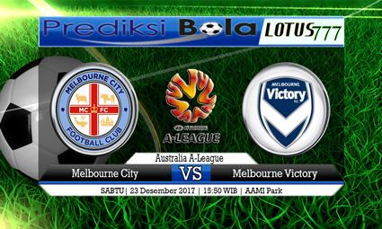 PREDIKSI SKOR Melbourne City vs Melbourne Victory 23 Desember 2017