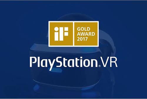 Las PlayStation VR se llevan el premio de IF Gold Award al diseño de producto de 2017