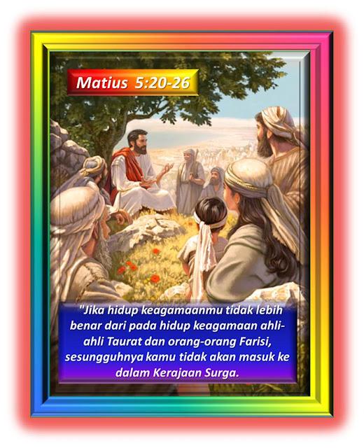 Matius 5:20-26