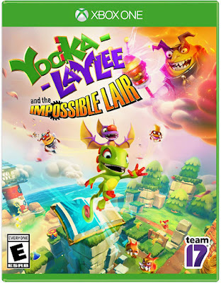 Yooka Laylee And The Impossible Lair Game Cover Xbox One