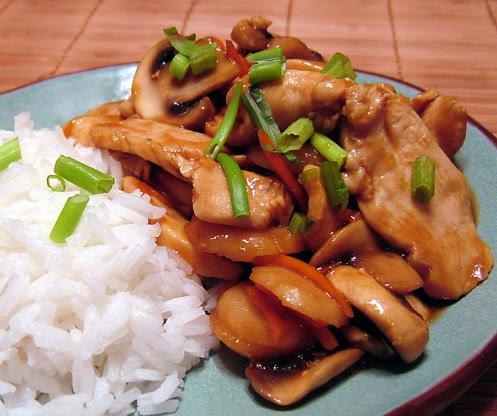 Easy Chicken Stir-Fry Teriyaki Recipe