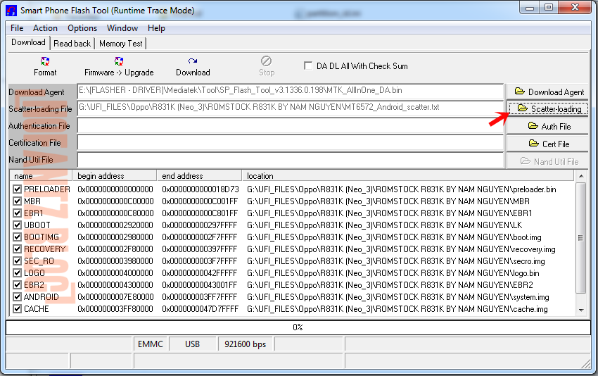 Tutorial Flashing Oppo Neo 3 R831K via Sp Flashtool