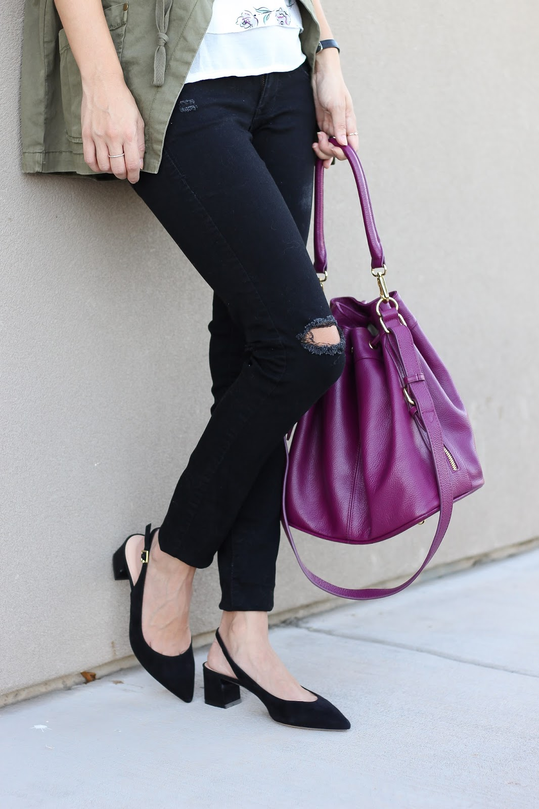 casual style - polished outfit - street style