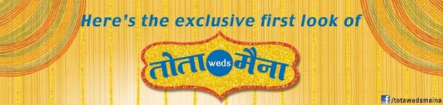 Gaurav Gera & Kavita Kaushik in SAB TV's New Show Tota Weds Maina