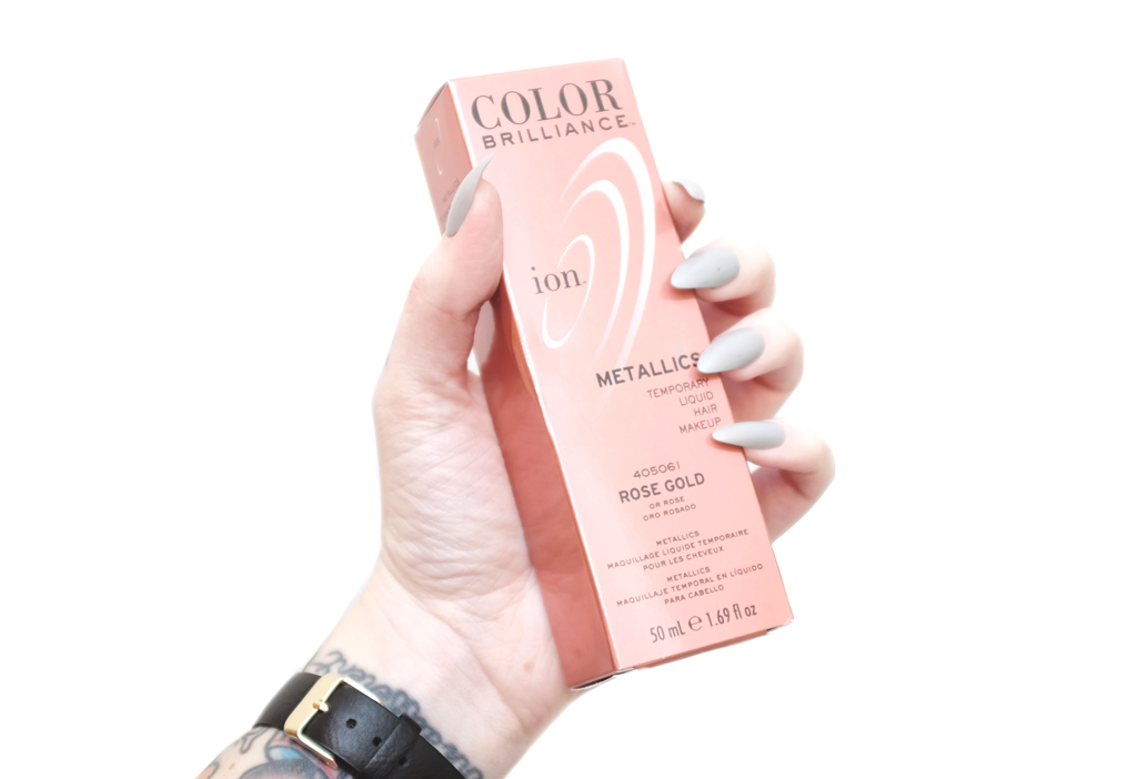 Mini Penny Review Ion Color Brilliance Rose Gold Hair Color