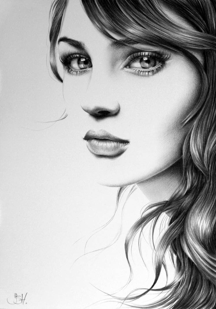 13-Tanita-Ileana-Hunter-Drawings-of-Minimalist-Realism-Meets-Celebrities-www-designstack-co