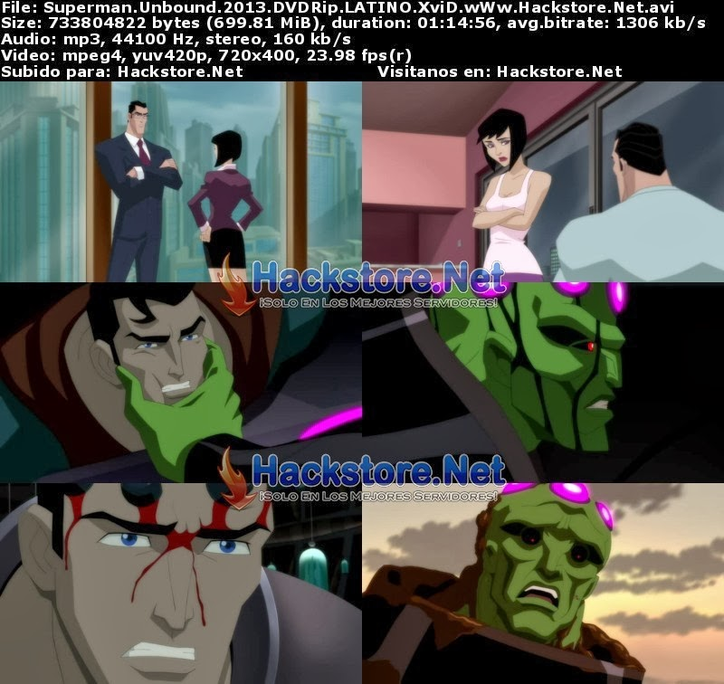 Captura Superman Unbound 2013 Dvdrip Latino