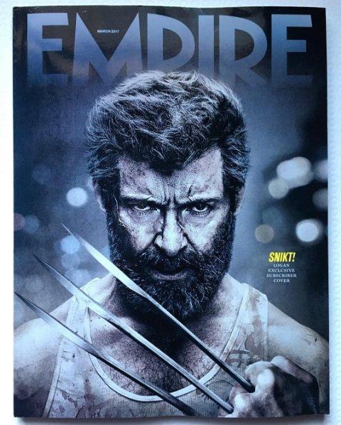 """portada de la Empire de """"LOGAN"""" [Marvel]."""