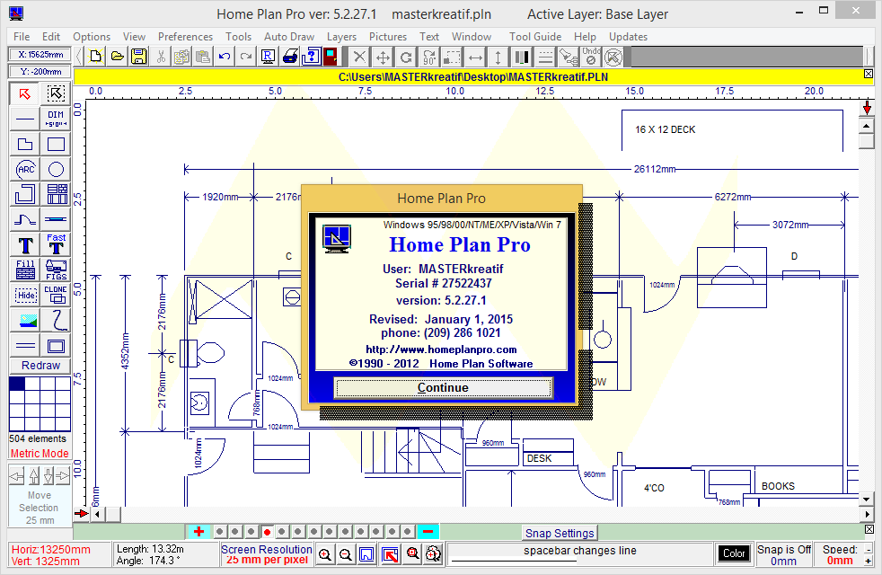 Home Plan Pro 5 2 27 1 Full Keygen
