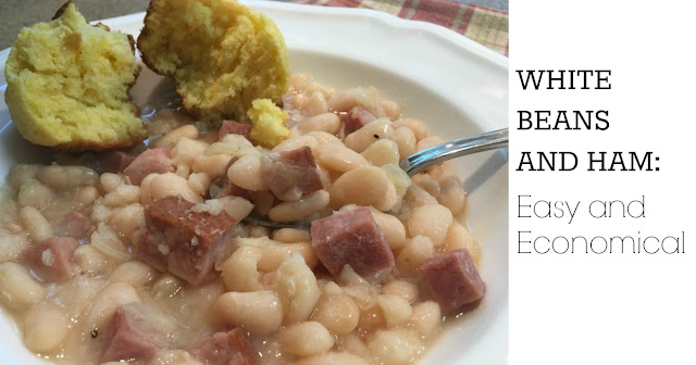 White Beans and Ham Recipe - Easy and Economical