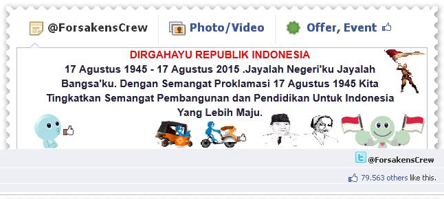 Meriahkan Hari Kemerdekaan Indonesia Di Sosial Media ...