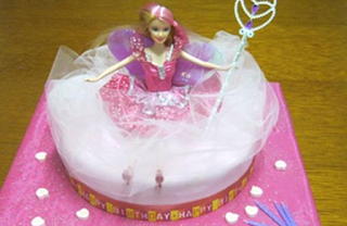 Gorgeous cakes in pink for princess