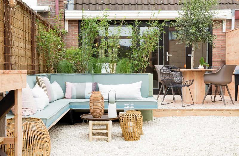 Arredare giardini e terrazze in stile nordico