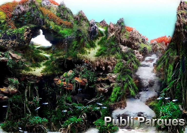 Jardín Zen Loro Parque