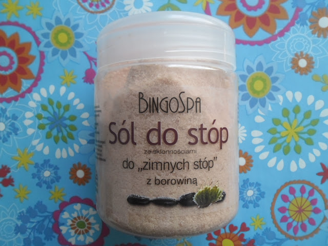 BingoSpa sól do stóp ze skłonnościami do zimnych stóp z borowiną