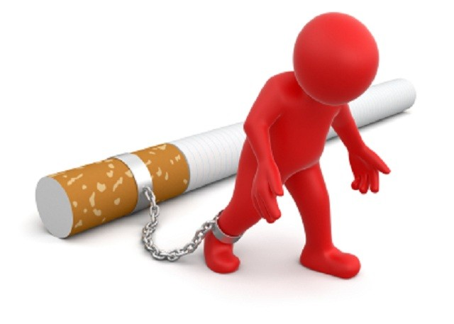 What is the type of lung cancer of non-smokers?