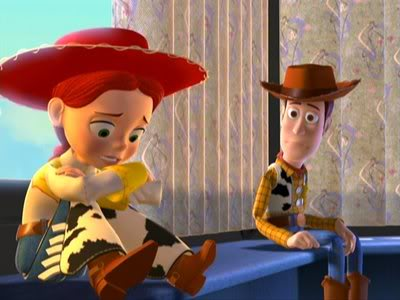 [Woody]: Look Jessie, I know you hate me for leaving, but ...