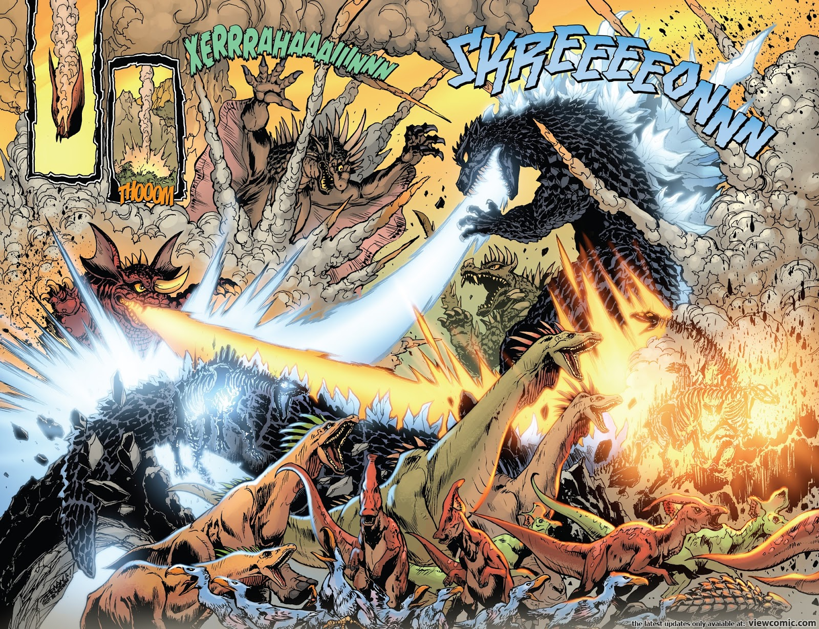 Godzilla  Rage Across Time 005 2016  Viewcomic Reading -7684