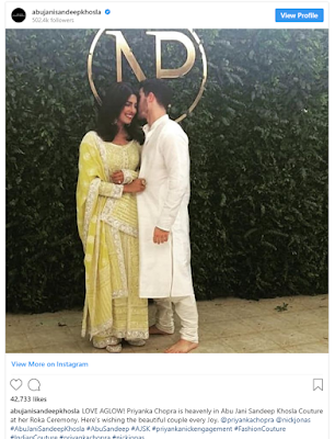 Nick Jonas and Priyanka Chopra Engagement Fashion Styles @Fashionolic