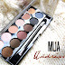 MUA Undressed Eyeshadow Palette - Review & Swatches