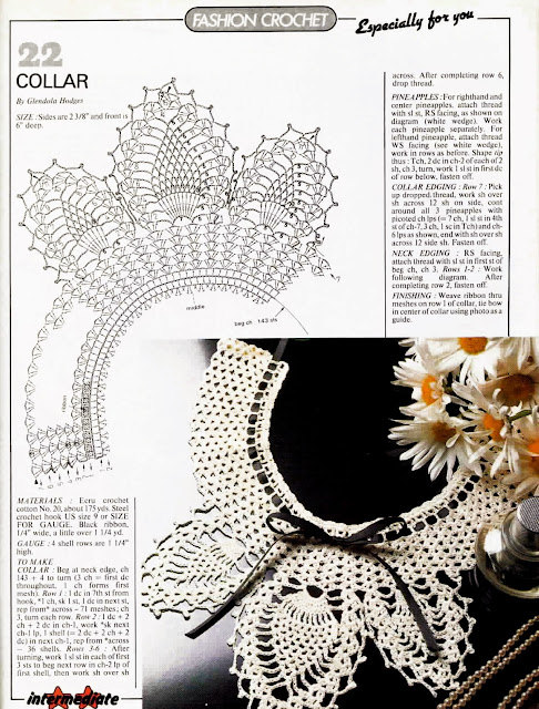 журнал Magic crochet № 46-1987 схема