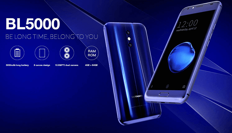 Doogee Philippines Teases BL5000 With Dual Cam And Huge Battery