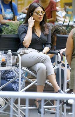 Priyanka Chopra Spotted on the Sets of Quantico
