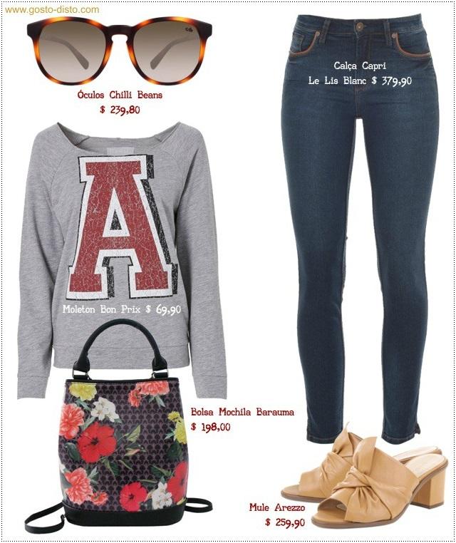 Como usar blusa de moletom - looks outfits