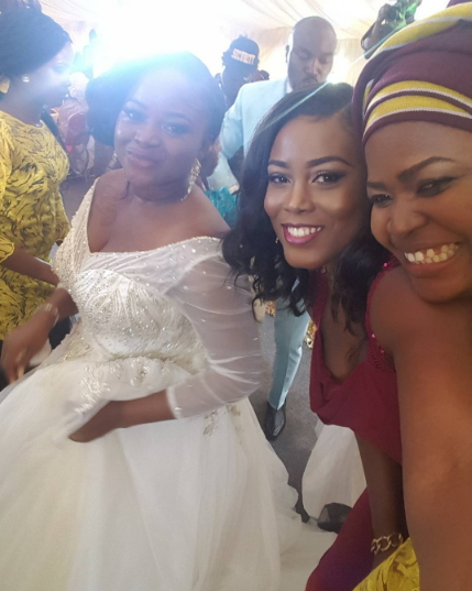 seun akindele wedding pictures