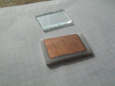фольга наклеенная силикатным клеем