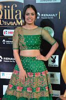 Nandita Swetha in a tight Green Choli Ghagra at IIFA Utsavam Awards March 2017 ~ 008.JPG
