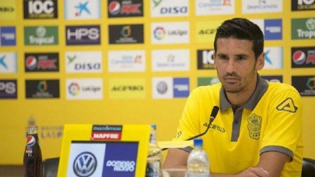 Vicente se despidió de la UD Las Palmas