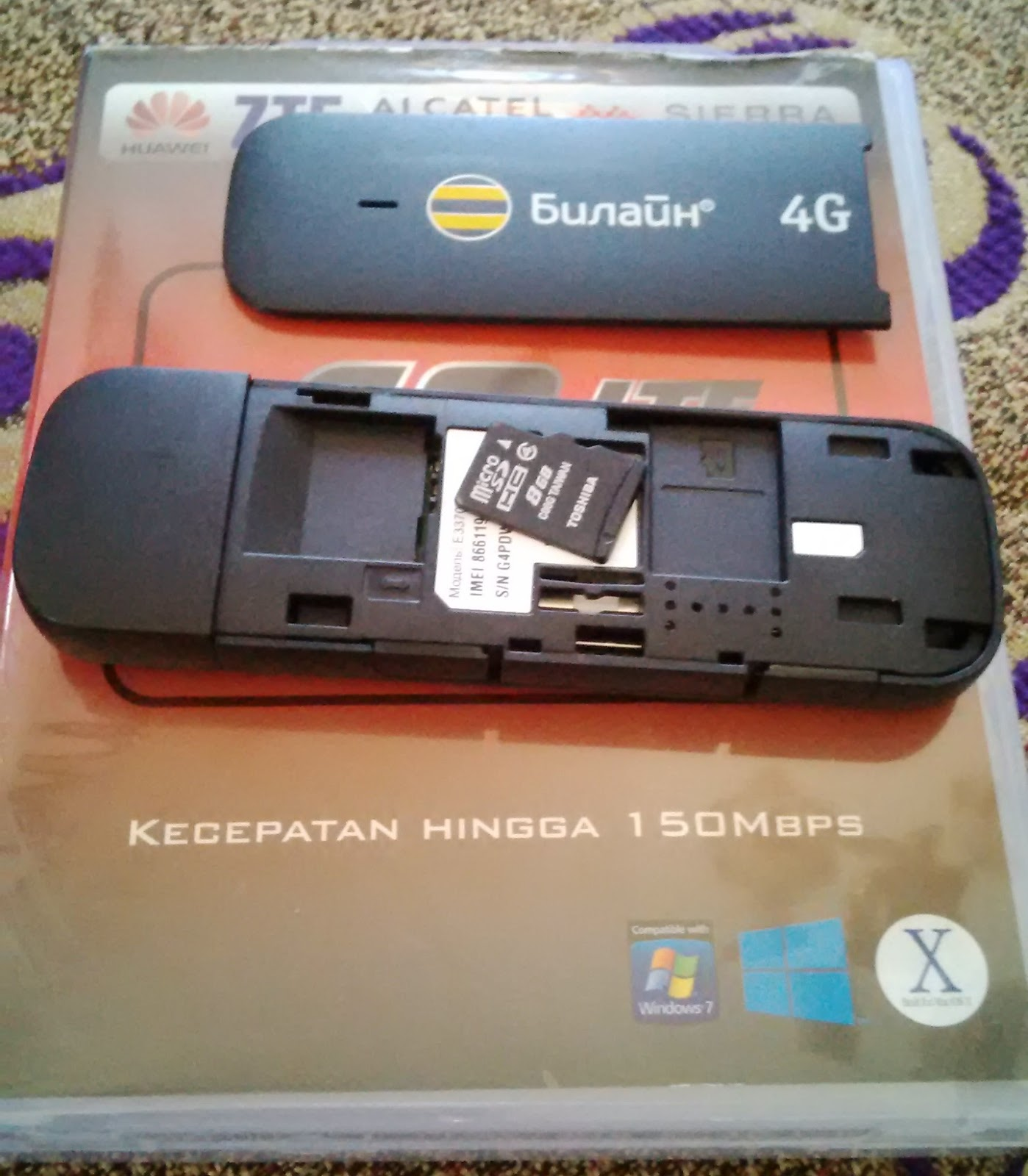 Spesifikasi Modem Huawei E3372 4G LTE 150Mbps All GSM
