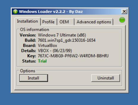 WINDOWS 7 LOADER BY DAZ 2.2.3 СКАЧАТЬ БЕСПЛАТНО