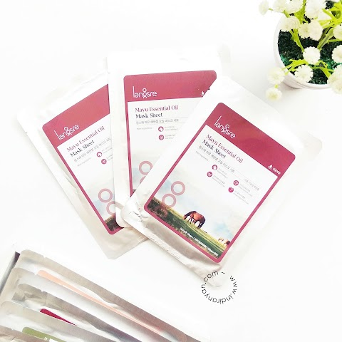 [REVIEW] Langsre - Mayu Essential Oil Mask Sheet